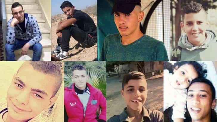 These are the Palestinian children killed by Israel in 2016
