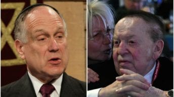 "JTA: ""Lauder vs. Adelson: Which Jewish billionaire has Trump's ear on Israel?"""