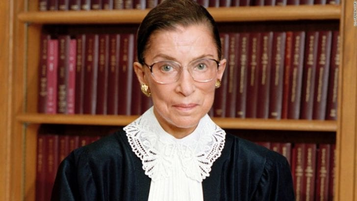 Ruth Bader Ginsburg: at 84, where does she get her PEP (Progressive Except Palestine)?