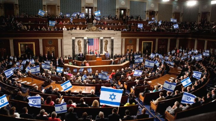 Congress today sneaking through $38 billion to Israel – Call now!